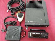 Motorola Astro Spectra W4 Vhf P25 Digital Trunking Mobile Radio 110w Complete