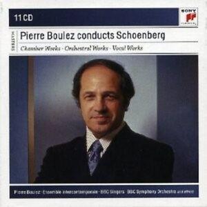 Pierre Boulez-Pierre Boulez Conducts bello montagna 11 CD NUOVO BELLO Berg, Arnold