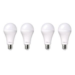 4x Laser 10W E27 Warm/Cool White Adjust Smart LED Light Bulb WiFi App Control