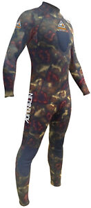 Adrenalin-3mm-Camo-Stealth-Steamer-Green-Dive-Neoprene-Wetsuit-BRAND-NEW