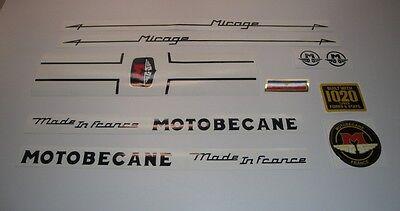 Motobecane Progress Vintage stickers decals graphics adesivi aufkleber