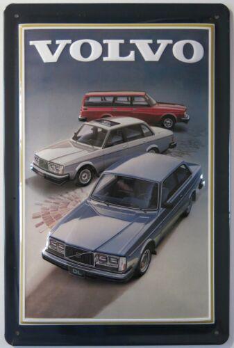 VOLVO TIN SIGN Models 240 740 Combi