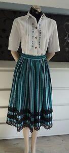 German Austrian Dirndl Skirt + Blouse Outfit 10