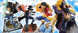New One Piece with ONE PIECE TREASURE CRUISE Vol.2 Ichiban Kuji Figure Set of 4