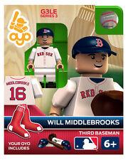 Will Middlebrooks MLB Boston Red Sox Oyo Mini Figure NEW G3