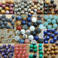 Wholesale Natural Genuine Stone Gemstone Round Spacer Loose Beads 4,6,8,10,12mm