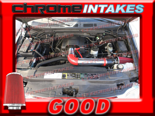 RED 97 98-04 FORD F 150//250 F150//F250//EXPEDITION 4.6L 5.4L V8 AIR INTAKE KIT