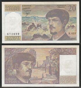 FRANCIA-20-Francs-1987-Pick-151b-aXF