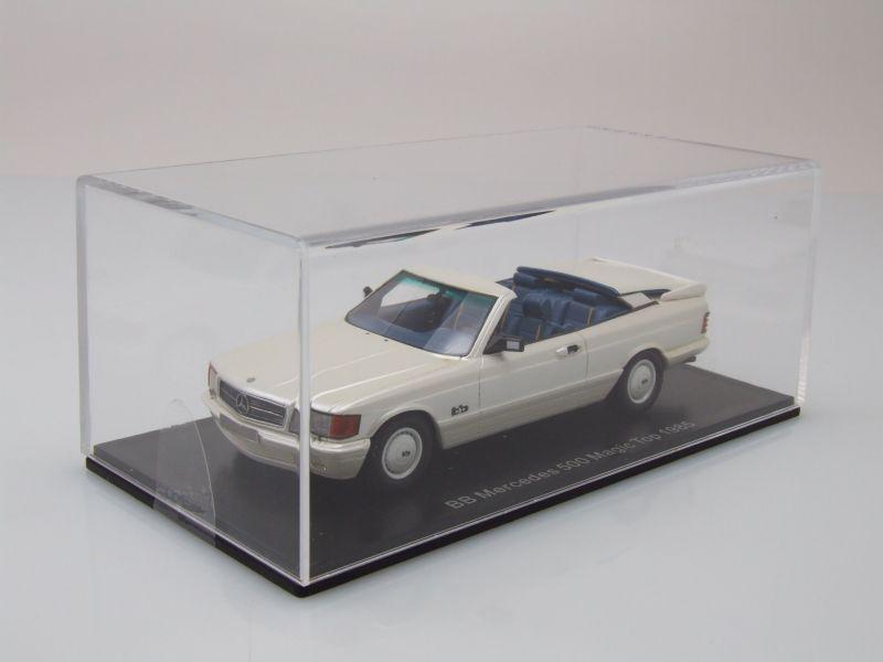 MERCEDES 500 S (W126) Magie Top BB-échelle 1 43 par Neo  RARE