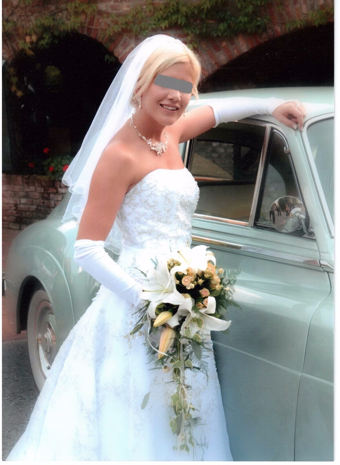 Hochzeitskleid weiß Größe 36
