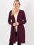NEW-Plus-Size-Open-Front-Long-Duster-Cardigan-Sweater-w-Side-Pockets-XL-1X-2X-3X thumbnail 8