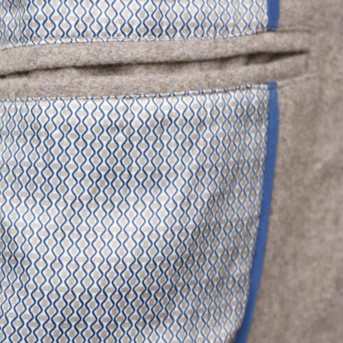 Harry d'avena farina Brown Cappotto in lana di qEvSA