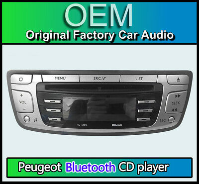 en Radio Pioneer Usb Aux reproductor Ipod Iphone Android Peugeot 107 auto estéreo