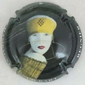 capsule champagne LAPOULLE bruno portrait noir fond or