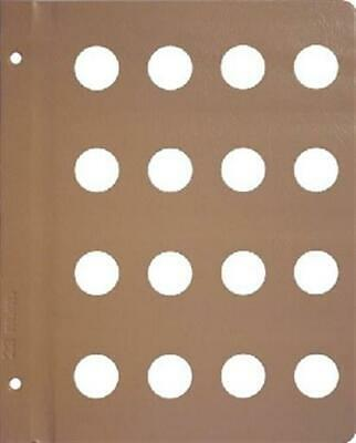 Dansco Coin Album Page Blank 22mm