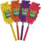 EXTENDABLE TELESCOPIC MICROFIBRE CLEANING FEATHER DUSTER EXTENDING MAGIC 77CM