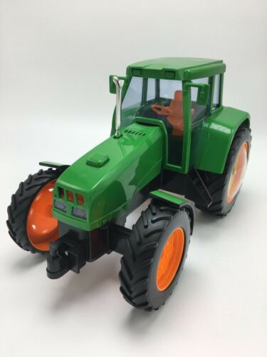 """11L X 7H X 6/""""W Tractor Alarm Clock W// Rooster Sound Collectible FREE SHIPPING"""