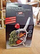Mulan A legumes vegetable Mill model#6550 NOS NIB VEV VAGANO