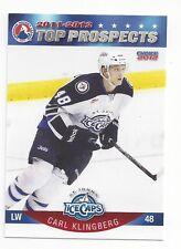 2011-12 AHL Top Prospects Carl Klingberg (Zug)