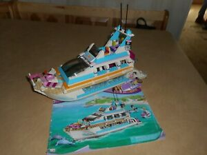 Lego Friends 41015 Dolphin Cruiser boat set near complete ...