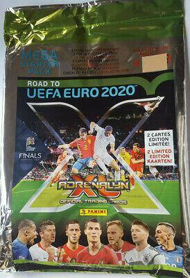 1 Display 50 Booster Panini Road to UEFA Euro 2020 em Adrenalyn XL +1 Starter