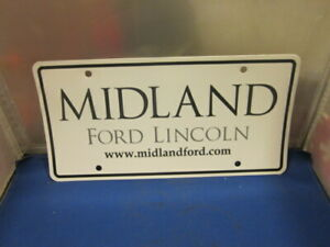 Jim Keim Ford >> MIDLAND FORD LINCOLN Dealer License Plate Frame Inserts ...