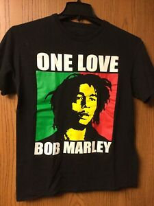 One love Bob Marley light pink color black print gildan t shirt S-3XL
