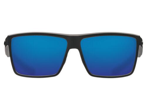 NEW Costa Del Mar RINCONCITO Matte Black 580 Blue Mirror Plastic 580P