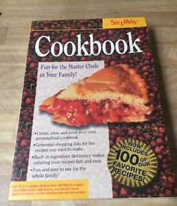 Vintage-New-In-Box-Cookbook-By-Stepway-IBM-Tandy-Computer-Game-3-1-2-034-Disk