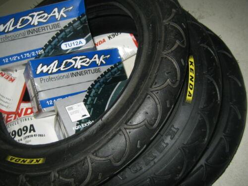 Kenda slick pram pushchair stroller buggy tyres or tubes 12 1//2 x 1.75 x 2 1//4