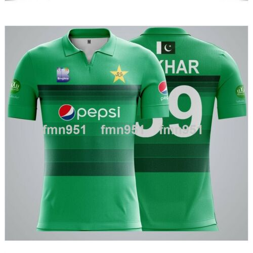 Pakistan 2019 Latest New T20 Shirt Jeysey Adults /& Kids Sizes Short and Long