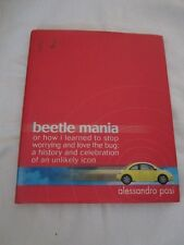 Beetle Mania by Alessandro Pasi and Pasi Alessandro (2000, Hardcover)