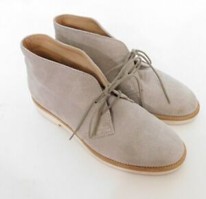 Woman-by-Common-Projects-Chukka-Suede-Desert-Boots-Natural-Tan-Sz-35-Italy