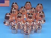 20pc X 21595 Electrode + 21596 Nozzle 50a - Esab® Pt-25 Plasma Torch Us Ship