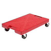 16'' X 11'' Red Garage Dolly Moving Furniture Storage Container Box Heavy Object