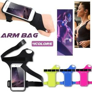 Sports-Wrist-Arm-Band-Bag-Pouch-Mobile-Cell-Phone-Holder-Wallet-Portable-Gym-Fit