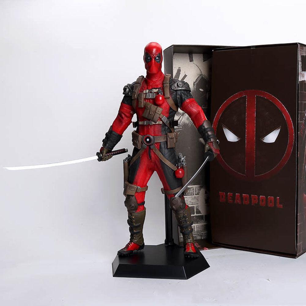 Marvel fr deadpool actionfigur spielzeug sammlerstck 30cm 12