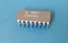 x9 **NEW** NATIONAL DS8641J, Bus Transceiver, 4 Bit, Ceramic, 16-Pin DIP