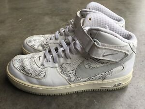 Nike Air Force 1 Mid Cocoa Snake sz 12 Snakeskin 310277-101 2006