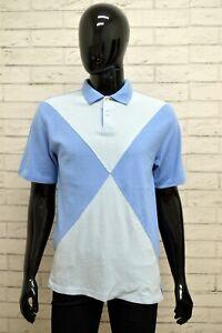 Polo-TOMMY-HILFIGER-Uomo-Taglia-Size-L-Maglia-Maglietta-Camicia-Shirt-Man-Cotone