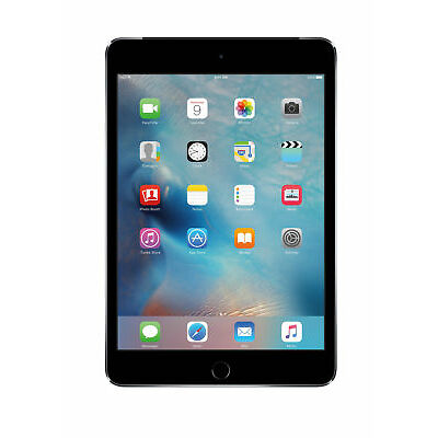 Apple iPad mini 4 128GB, Wi-Fi + Cellular, 7.9in - Space Gray