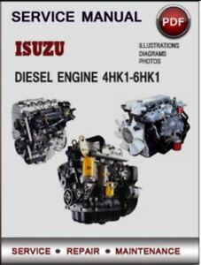 isuzu 4hk1 6hk1 diesel engine series service manual on cd ebay rh ebay ie isuzu 4hk1 engine wiring diagram isuzu npr 4hk1 wiring diagram