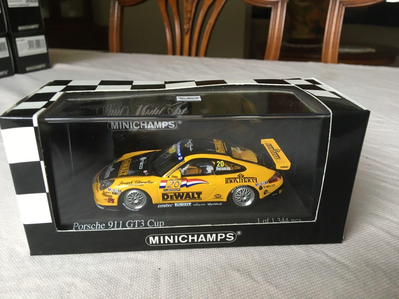 Minichamps Porsche 911 GT3 Cup, Carrera Cup  2003, in 1 43 scale diecast