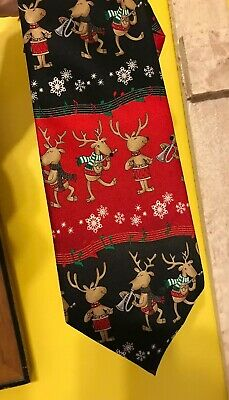 Vintage Mens Neck Tie By Holiday Traditions Hallmark Christmas Necktie Free Shipping Within North America