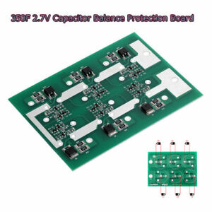 Details about MaxWell 6 Strings 2 7V 350F Super Capacitors Protection Board  Balancing Plate