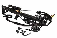 Bruin Ambush 410+ Crossbow Package w/ Scope, Bolts, Quiver and Cocking Rope