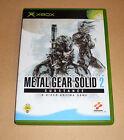 Microsoft XBox Spiel Game - Metal Gear Solid 2 II - Substance - Hideo Kojima