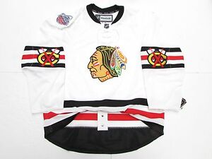 detailed look 64e37 5fd5f Details about CHICAGO BLACKHAWKS AUTHENTIC 2017 NHL WINTER CLASSIC REEBOK  EDGE 2.0 7287 JERSEY