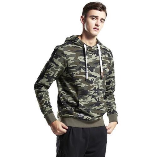 Mens Camouflage Camo Hoodie Sweatshirt Hooded Sweater Black Friday Big Sales