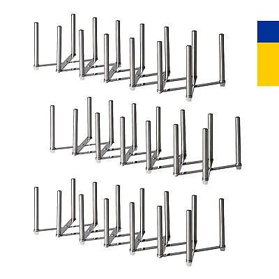 3 X Ikea Pot Lid Plate Stainless Steel Multi Use